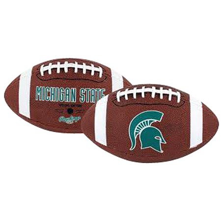 Rawlings Gametime Full-Size Football, Michigan State - Green Collegiate Football