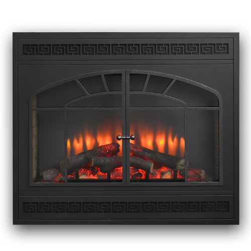 The Outdoor GreatRoom Company Arch Rectangular Front for Gallery Electric LED Fireplace