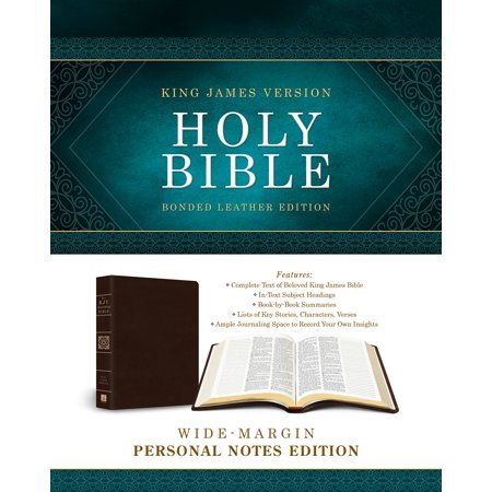 Holy Bible: Wide-Margin Personal Notes Edition : King James Version (Bonded (Barbour Waxed Leather)