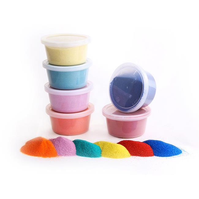 Hygloss® Colored Sand - 6 colors per pack, 3 packs