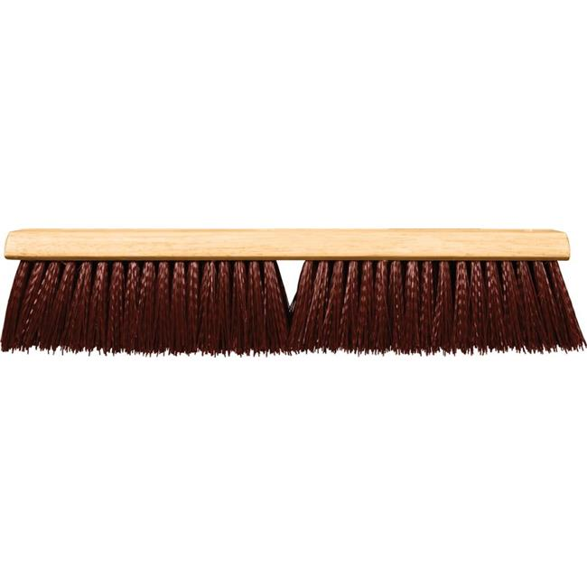 Super Sweeper 101048 48 in. Maroon Poly Super Sweeper Brush - image 1 of 1