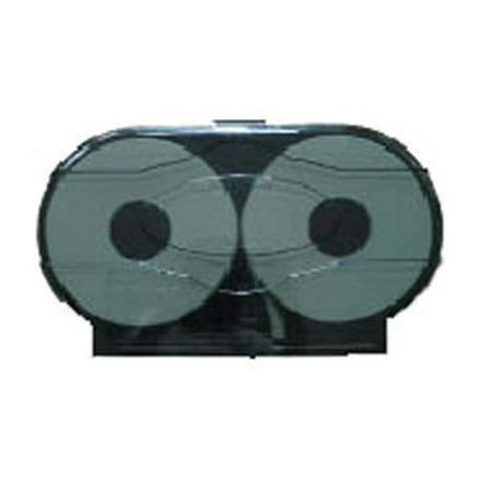 Winco TD-220 Double Roll Jumbo Toilet Paper Dispenser