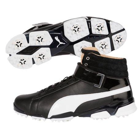 beaedc0d9119 Puma 2017 Ignite Hi-Top SE Golf Shoes (Black White) - Walmart.com