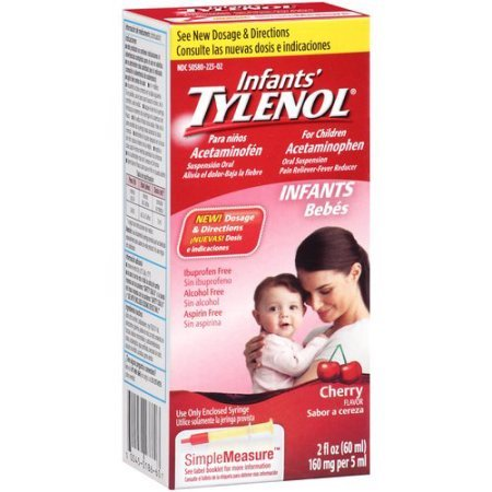 Infant Tylenol Cherry 2oz
