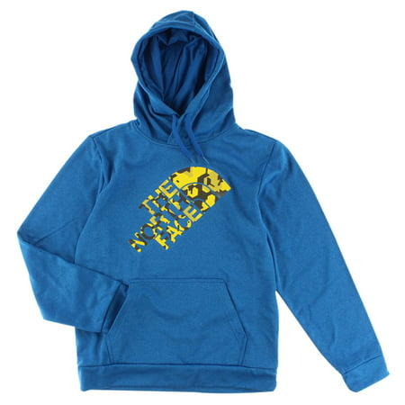 The North Face Mens Camo Surgent Hoodie Blue