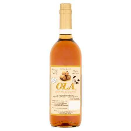 (2 Pack) Ola Golden Dry Cooking Wine, 25 fl oz
