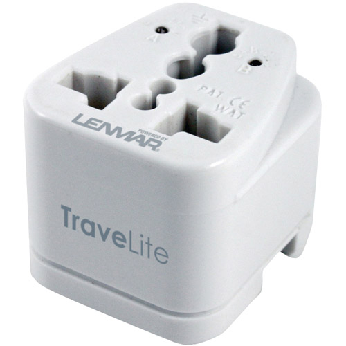 Lenmar Ac150 Travelite Ultra-Compact All-In-One Travel Adapter by Lenmar