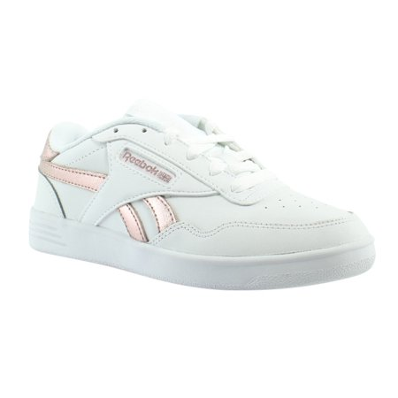 Reebok Club Memt WhiteRose Gold Athletic Sneaker Womens Athletic Shoes Size 8 New