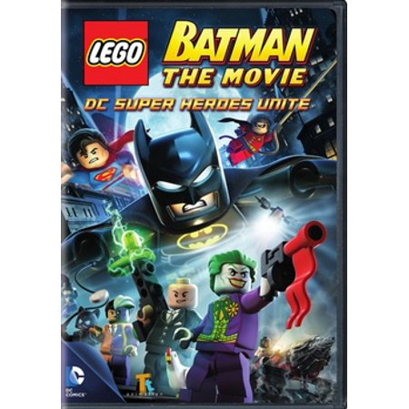 Lego Batman: The Movie DC Super Heroes Unite (DVD) for $<!---->