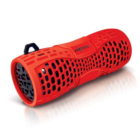 Axess SPBW1035RD Water Resistant Speaker with Speakerphone, Red - image 1 of 1