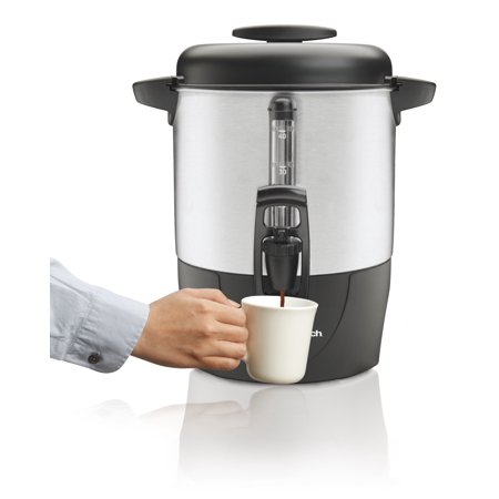 Coffee Urn Percolator - Hamilton Beach 40 Cup Coffee Urn | Model# 40514