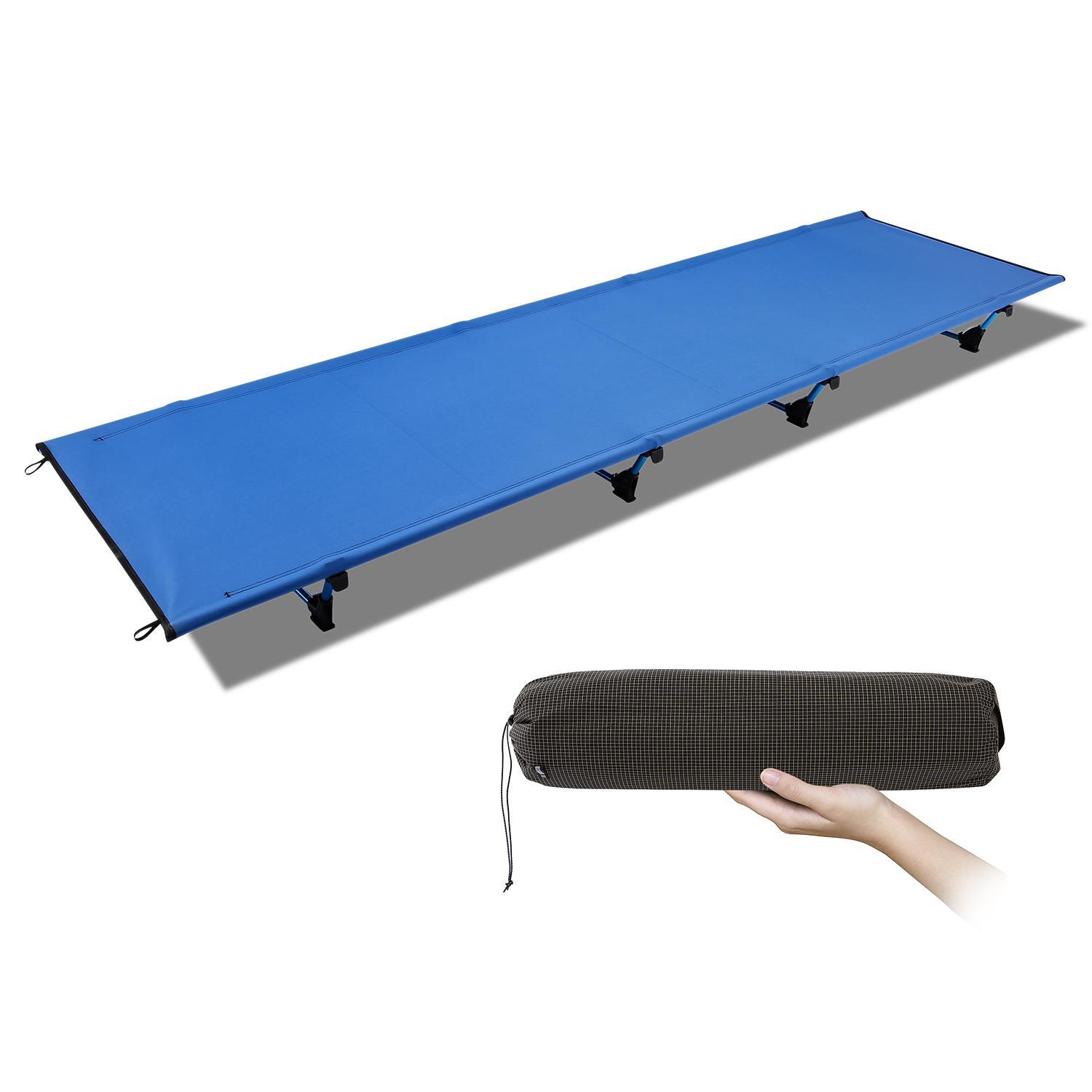 Ultralight Folding Camp Bed Hunting Camping Cot Breathable Waterproof HPPY by