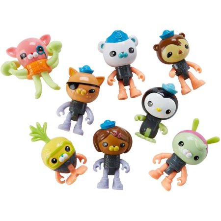 Octonauts Octo-Glow Crew Pack - Octonauts Characters Tweak