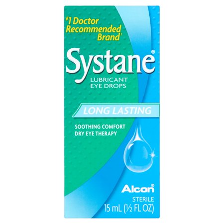 Alcon Systane Dry Eye Lubricant Artificial Tear Drops  0 5 Fl Oz