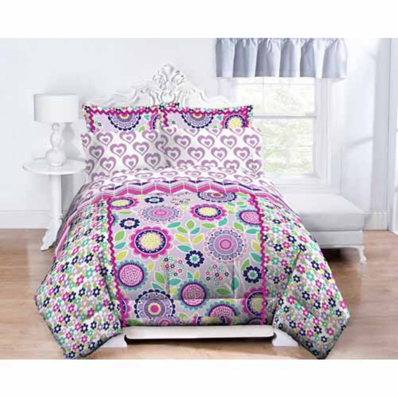 Purple Heart Sheet Set by Just For Kids
