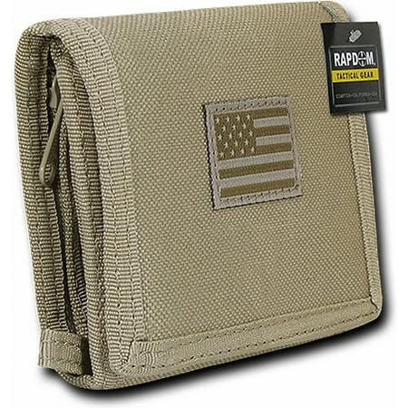 RapDom Tonal USA Flag Tactical Mens Wallet