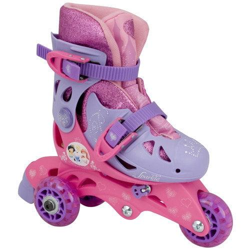 Bravo Sports Disney Princess Sparkle Convertible Skates