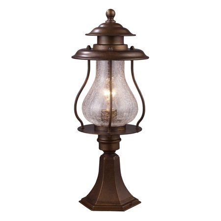 New Product  Wikshire 1 Light Outdoor Post Mount In Coffee Bronze 62007-1 Sold by VaasuHomes 1 Light Outdoor Post Mount