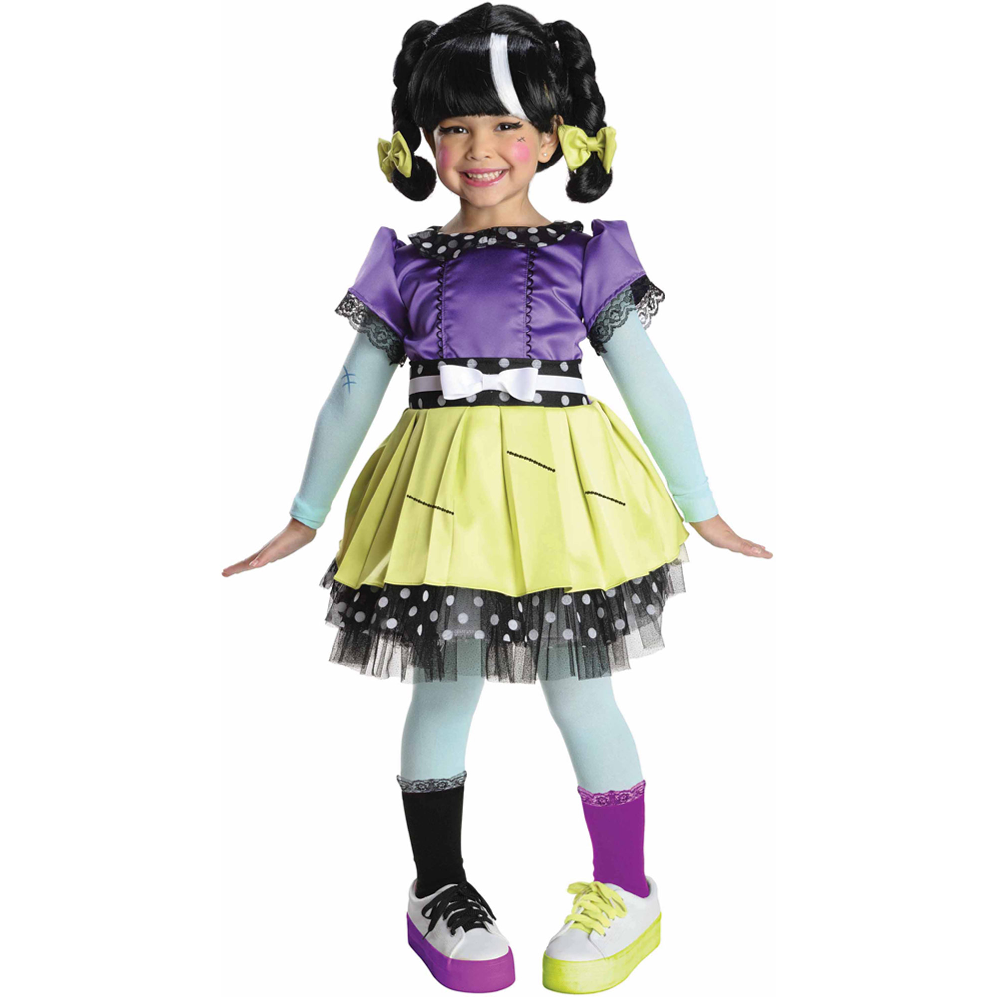Scraps Stitched N Sewn Child Halloween Dress Up / Role Play Costume