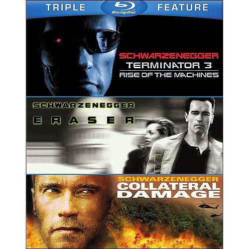 Terminator 3: Rise Of The Machines / Eraser / Collateral Damage (Blu-ray) (Widescreen)