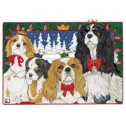 Pipsqueak Productions C820 Holiday Boxed Cards- Cavalier King Charles Spaniel