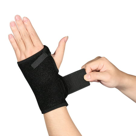 HERCHR Wrist Brace with Thumb Spica Splint Support for De Quervain's, Scaphoid Fracture, Sprain or Muscle Strain, Carpal Tunnel Relief, Injury Recovery for Men & Women, Left