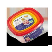 Ragalta RPS-500 14 Pieces Multi-Colored Storage Set