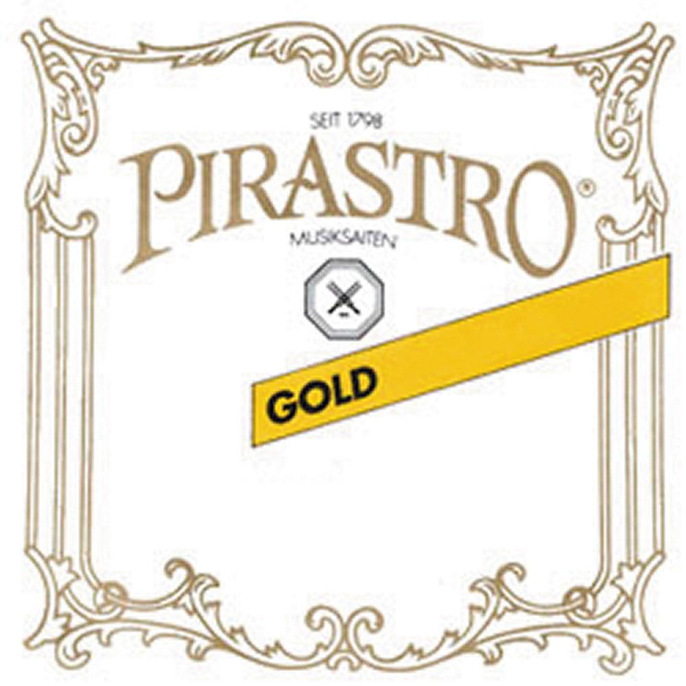 Medium Gauge 4//4 Size Pirastro Wondertone Gold Label Violin D String