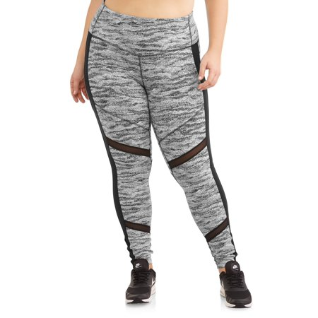 3eea85b0ac962f Avia - Women's Plus Size Hit the Trail Legging - Walmart.com