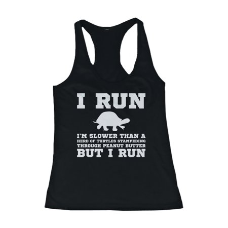 I'm Slower than a Turtle Funny Workout Tank Top Gym sleeveless (Best Sleeveless Workout Shirts)