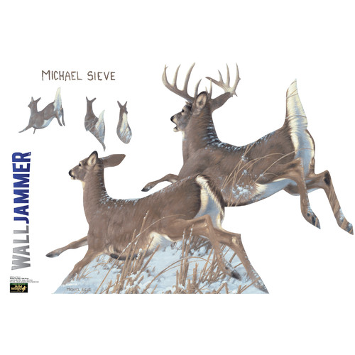 Advanced Graphics Cabela's Tailed Deer Wall Decal
