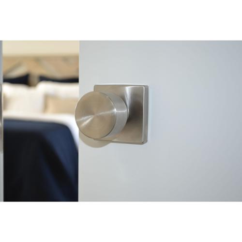 Sure Loc Bergen Stainless Steel Square Door Knob