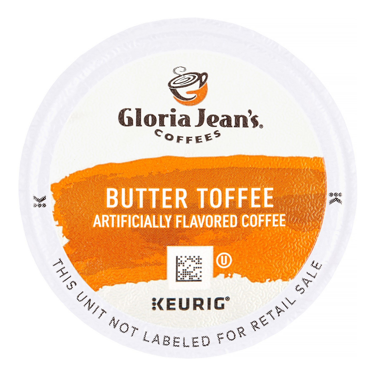 Gloria Jean's Butter Toffee Coffee K-Cups, 24/Box -DIE60051012