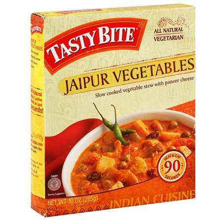 Tasty Bite Jaipur Vegetables Entree, 10 oz, (Pack of 6) - Halloween Food Entrees