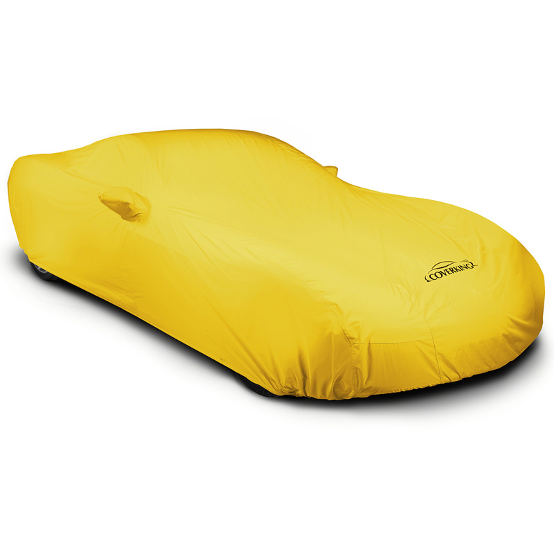 CUSTOM VEHICLE COVER STORMPROOF TM YELLOW CLASS 5 FOR CADI