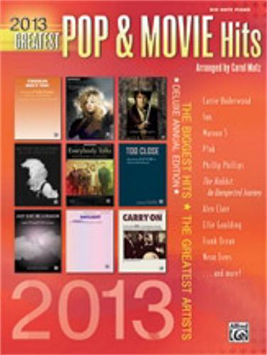 Alfred 2013 Greatest Pop & Movie Hits {big notes} by Alfred
