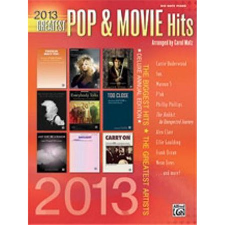 Alfred 2013 Greatest Pop   Movie Hits  Big Notes