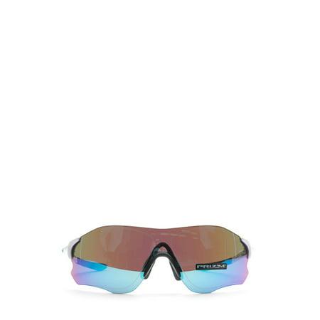 Oakley Mens EVZero Path Asian Fit Sunglasses, Polished White/Prizm Sapphire, One Size Alabama Ladies Sapphire