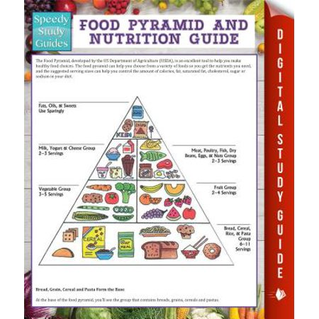 Food Pyramid And Nutrition Guide (Speedy Study Guide) - (Food And Nutrition 1 State Test Review)