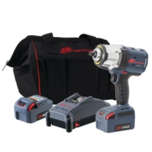 Ingersoll Rand IRTW7152-K22 Impact Wrench 1 2in Iqv20 High Torque 2-bat Kit by Ingersoll Rand