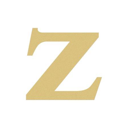 Unfinished Wood Letter, Lowercase 6'' Times z, DIY Craft](Letter Z Crafts)