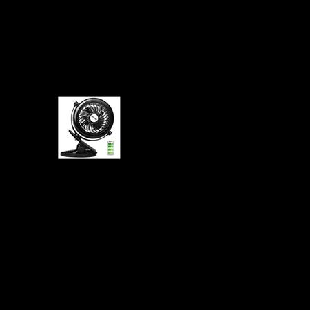 Opolar Battery Clip On Fan Powered By Usb Or 2200mah