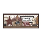 Friends and Family Plaque