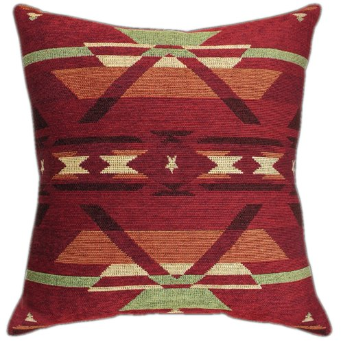 Manual Woodworkers & Weavers Flame Throw Pillow