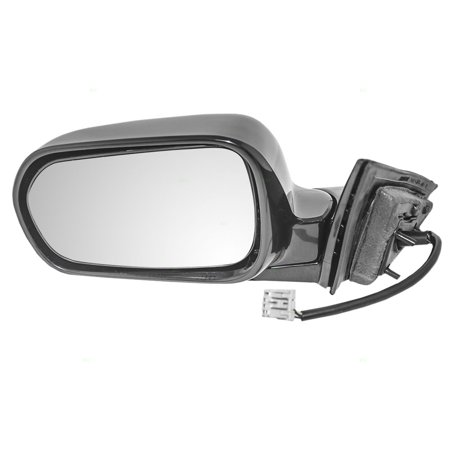 Drivers Power Side View Mirror Heated Ready-to-Paint Replacement for Acura 76250-S0K-A11ZK