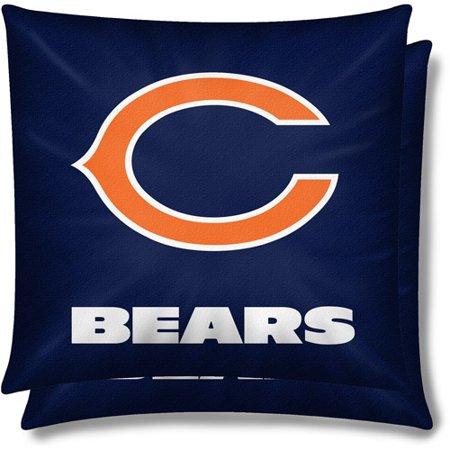 low priced 5b169 b3456 NFL 2pk Pillow Set, Chicago Bears - Walmart.com