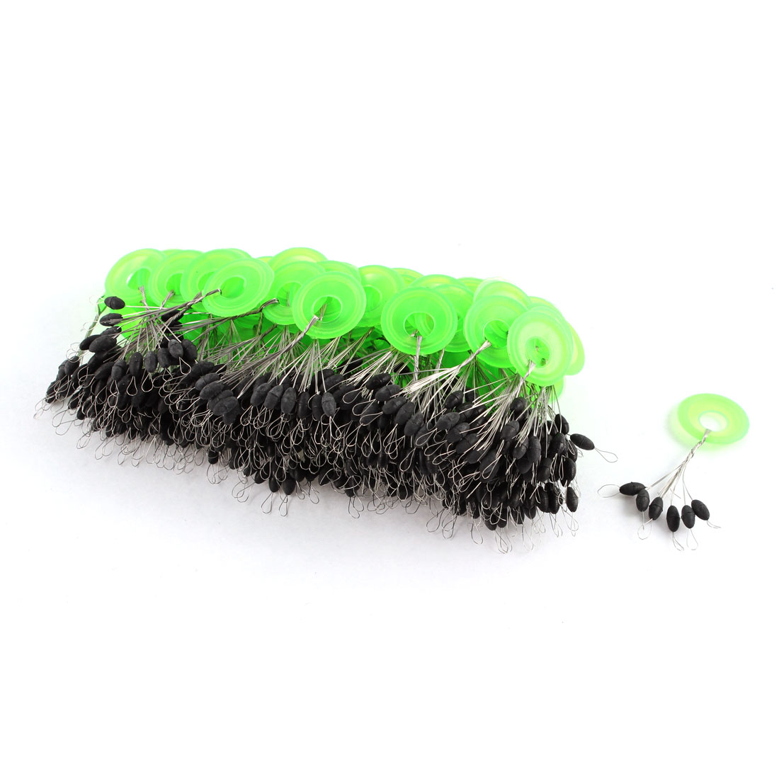 Click here to buy Unique Bargains 6 in 1 Soft Rubber Fishing Floaters Bobbers 6mm Long 100 Pcs by Unique-Bargains.