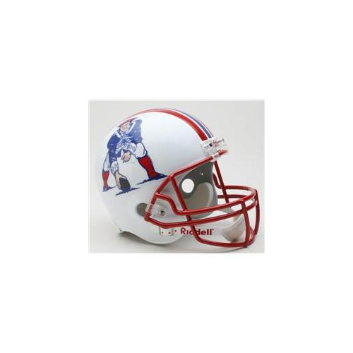 Creative Sports RD-PATRIOTSTB-R90-92 New England Patriots 1990-1992 Throwback Riddell Full Size Deluxe Replica Football