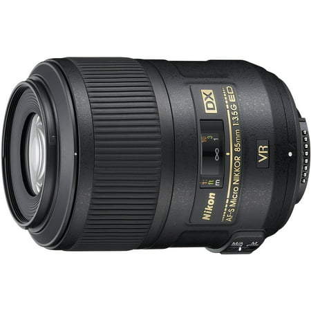 Nikon AF-S DX Micro NIKKOR 85mm f/3.5G ED VR Portrait (Best Lens To Use For Portraits)