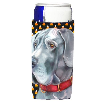 Great Dane Candy Corn Halloween Ultra Beverage Insulators for slim cans LH9549MUK](Great Dane Horse Halloween)